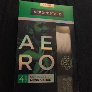 Brand New set of 3 Men's Aeropostale undershirts